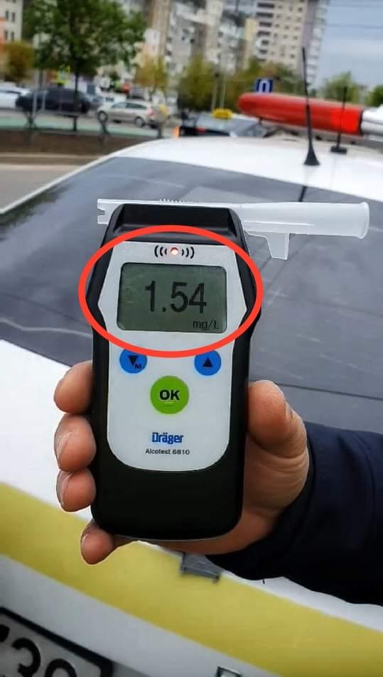Очередной пьяный водитель попался столичной полиции