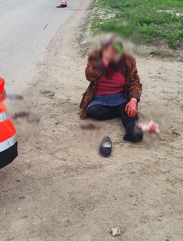 ДТП в Чимишлии: 90-летний водитель сбил женщину и покинул место аварии