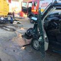 ЧП на автозаправке: водитель микроавтобуса на скорости влетел в цистерну (ФОТО)