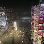 В продуктовом магазине в центре столицы вспыхнул пожар (ФОТО)