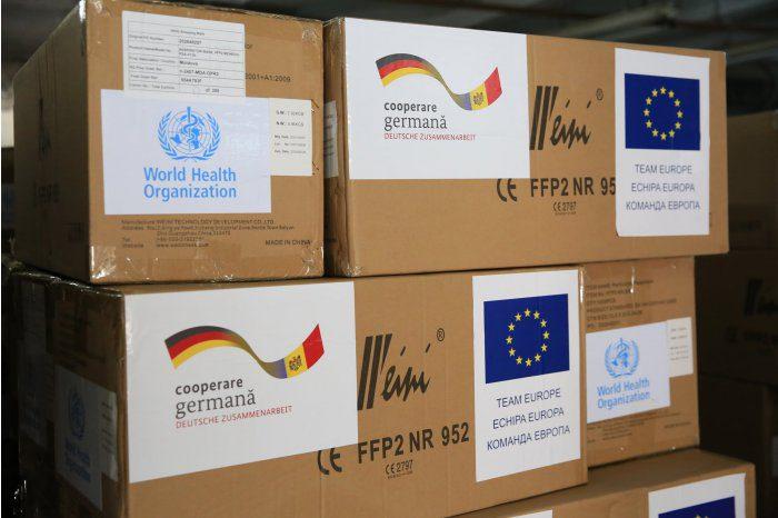 Молдова получила партию медпомощи из Германии