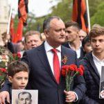 Игорь Додон призывает граждан принять участие в Марше памяти и акции «Бессмертный полк» (ВИДЕО)
