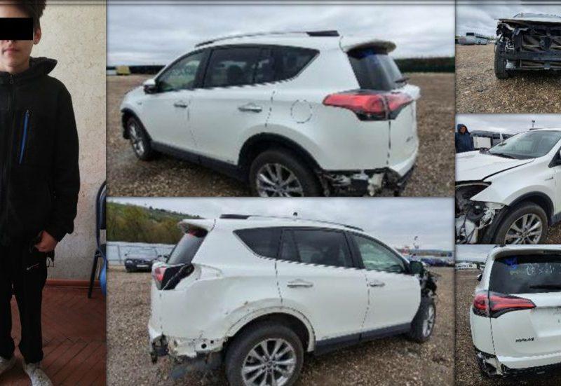 Прокатился с ветерком: подросток угнал машину из автосервиса