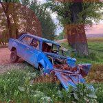 """В Оргееве водитель """"Жигули"""" скончался после лобового столкновения с микроавтобусом (ФОТО)"""