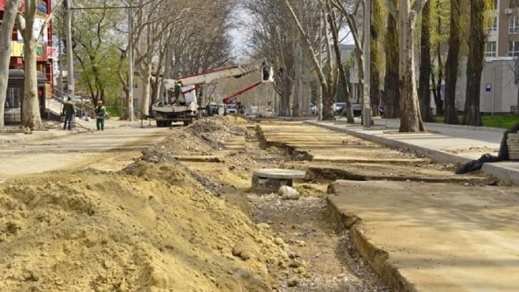 Улица Иона Крянгэ в этом месяце будет перекрыта по выходным
