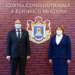 Посол Румынии наведался в Конституционный суд Молдовы