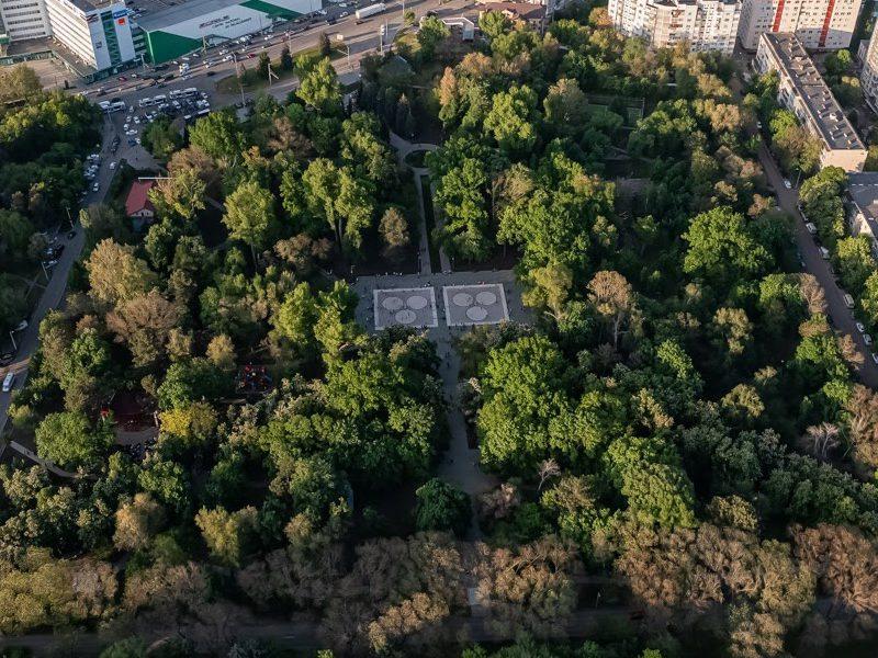 Ион Чебан открыл отремонтированный парк «Алунелул»
