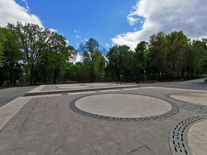 Работы по модернизации парка «Алунелул» завершаются