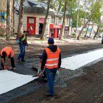 Генпримар осмотрел ход ремонтных работ на улице Иона Крянгэ