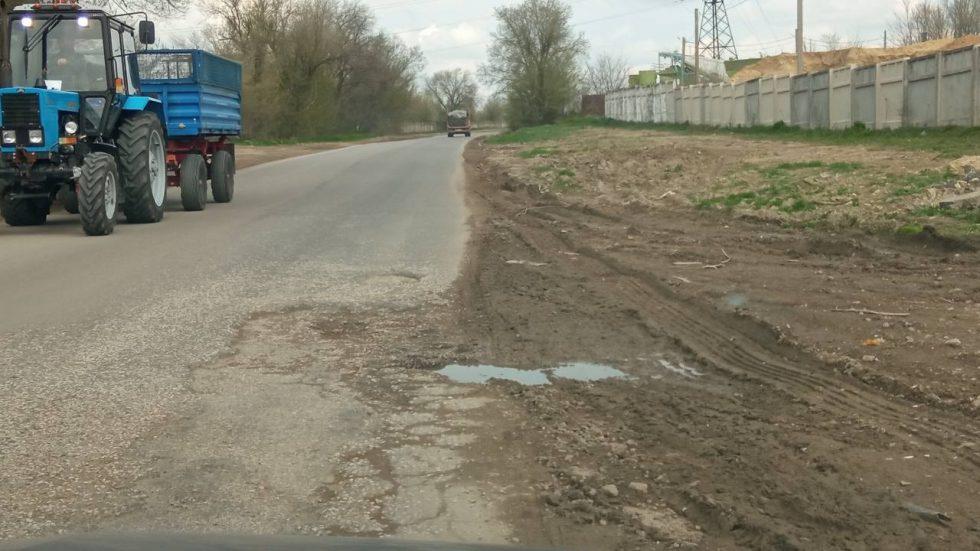 Чебан об ужасном состоянии подъездных дорог к пригородам: Они не на балансе муниципалитета