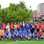 """В столичном лицее """"Михай Витязул"""" открыли отремонтированный футбольный стадион"""