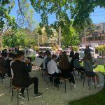 В недавно отремонтированном сквере на Рышкановке прошёл концерт классической музыки
