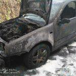 У тираспольчанина из-за проблем с проводкой загорелся автомобиль