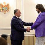 Додон поздравил Гордиенко с выходом в финал и поблагодарил Киркорова за поддержку Молдовы