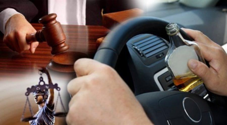 Мужчину лишили прав за пьянство, но он снова сел за руль подшофе