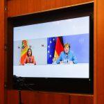 Онлайн-встреча Санду с Меркель обошлась гражданам в 65 тысяч леев