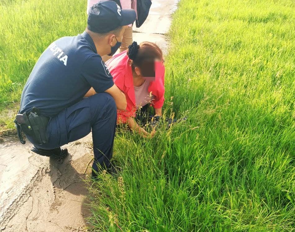 В Чимишлии патрульные пришли на помощь женщине, сломавшей руку