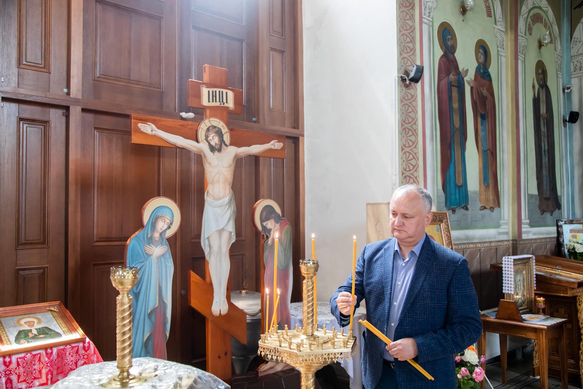 Додон: Наша задача – сберечь для будущих поколений традиционные духовные ценности