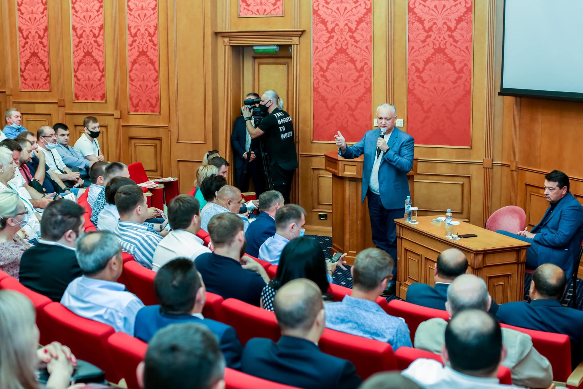 Додон: Без России Молдова не выживет. Наша задача – вывести партнёрство с РФ на новый уровень (ВИДЕО)