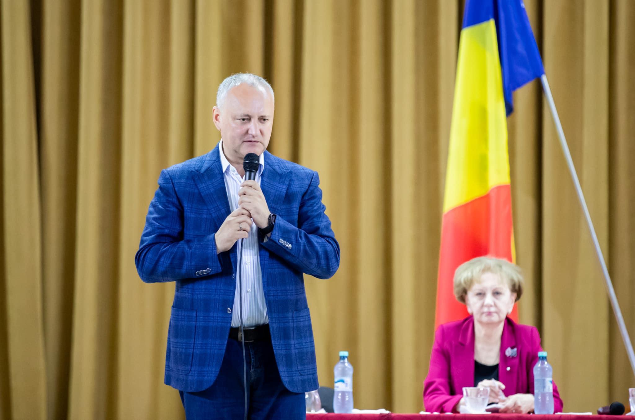 Зинаида Гречаный и Игорь Додон встретились с жителями Бричан (ФОТО, ВИДЕО)
