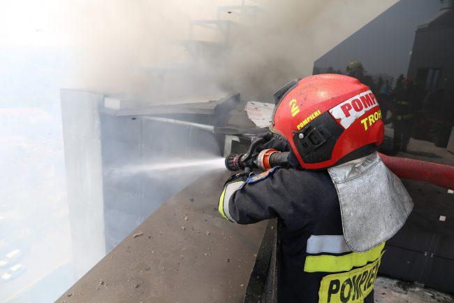 Пожар в новострое на Чуфле: специалисты рассматривают три версии случившегося