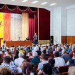 Переполненный зал на встрече с Додоном, Цырдей и Старышем в Штефан-Водэ: о чём шла речь (ФОТО, ВИДЕО)