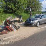 Во Флорештах водитель не выдержал дистанцию и спровоцировал ДТП: пострадал мужчина