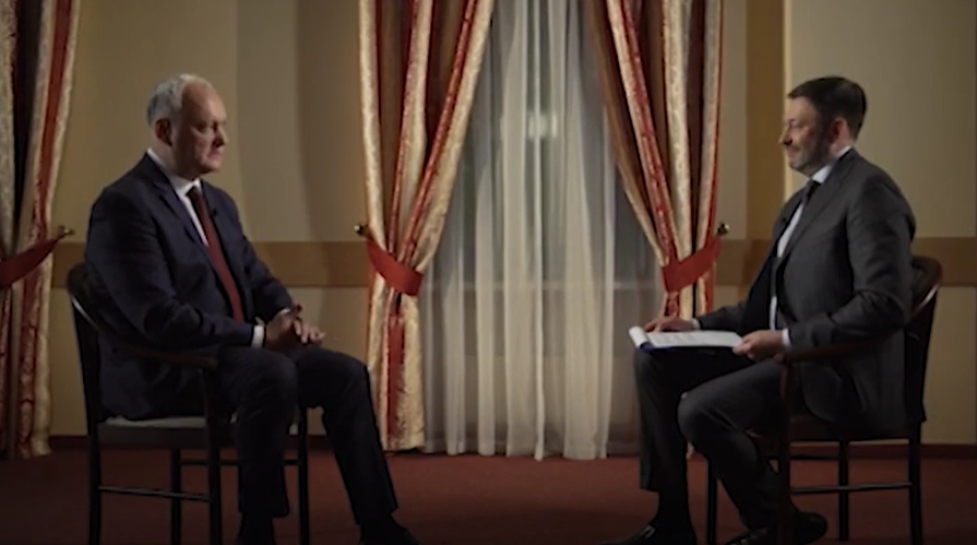 Додон: В период правления проевропейцев в Молдове больше всего украли и разрушили (ВИДЕО)