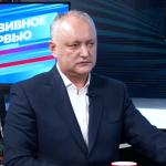 """Додон: Молдову хотят превратить в региональное """"пушечное мясо"""", которое не жалко использовать против России"""