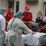Экипаж SMURD доставил в Кишинёв гражданку Молдовы, проходившую лечение в России