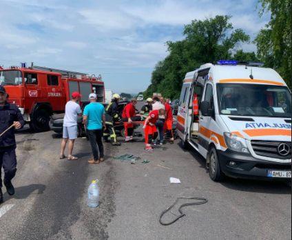 ДТП в Страшенах: водитель в больнице в тяжёлом состоянии