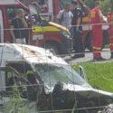 (ОБНОВЛЕНО) Микроавтобус из Молдовы попал в ДТП в Румынии. Один человек погиб