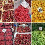 Всем на рынок! В продаже появились первые абрикосы, нектарины и малина (ФОТО)