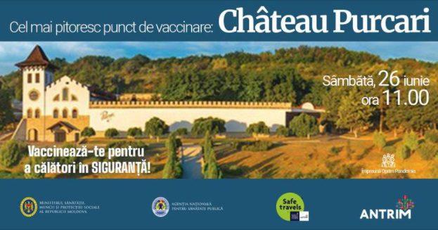 В эту субботу прививку от коронавируса можно будет сделать и в Шато Пуркарь