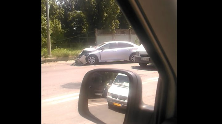 Два водителя госпитализированы после ДТП в Сынжере (ВИДЕО)