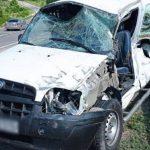 Авария в Бричанах: водитель попал в больницу после столкновения с прицепом (ФОТО)