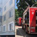 Пожар в многоэтажке в столице: жильцов эвакуировали