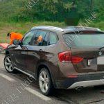 Пешеход угодил под колёса автомобиля