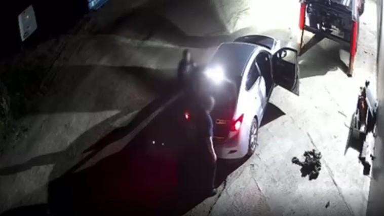 В столице двое подельников попались на ворованном металлоломе (ВИДЕО)