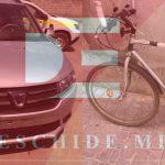 Автомобиль сбил подростка на велосипеде в Теленештах