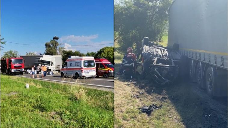 Трагическое ДТП в Румынии: погибли двое взрослых и ребёнок из Молдовы (ФОТО)