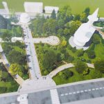 """Сквер """"Совета Европы"""", расположенный между улицами Матеевича и Когэлничану, будет восстановлен"""