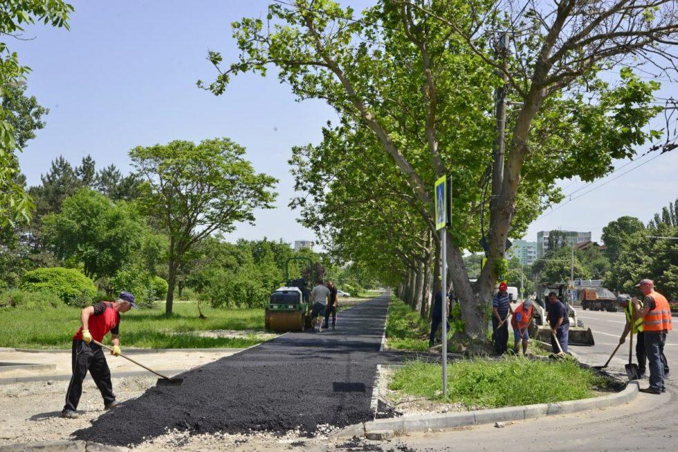"""Продолжаются работы по обустройству парка """"Ла извор"""""""