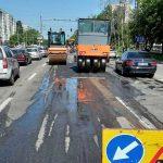В столице продолжается ямочный ремонт дорог (ФОТО)