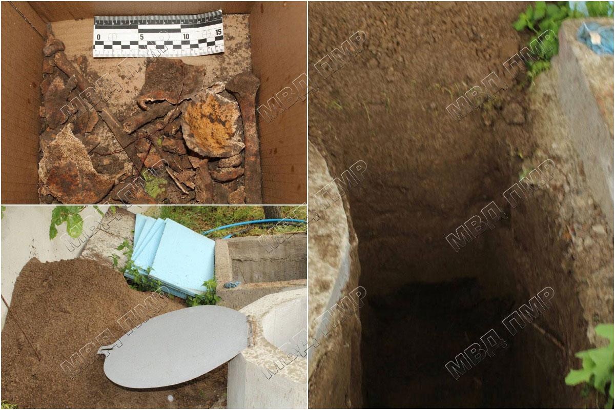 Житель Паркан нашёл человеческие останки во дворе своего дома