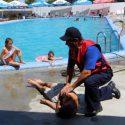 ГИЧС продолжает кампанию по предотвращению случаев утопления (ФОТО)