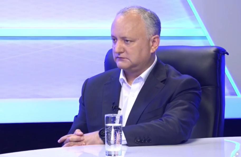 Додон: Коммунисты и социалисты сформируют в парламенте команду патриотов Молдовы (ВИДЕО)