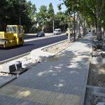 Часть улицы И. Крянгэ снова закрыта в эти выходные на ремонт