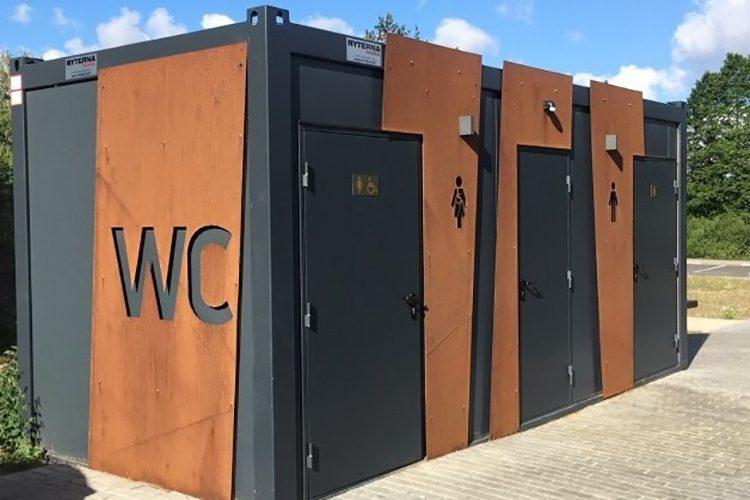 """На улице Сармизеджетуcа и в парке """"Валя Морилор"""" появятся новые общественные туалеты"""