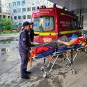 SMURD доставил из Украины в Молдову пострадавшую в ДТП женщину (ВИДЕО)